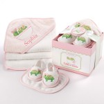 """Tillie the Turtle"" Four-Piece Bathtime Gift Set (Personalization Available)"