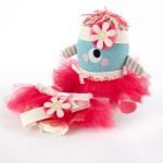 """""""Clara the Closet Monster"""" Baby Bloomers, Headband and Monster Plush Toy Gift Set"""