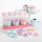 """Baby Cakes"" 3 Pairs of Socks Gift Set"