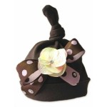 Coco Flower and Ribbon Bow Baby Girl Hat