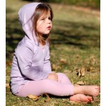 Organic Hooded Shirt -Lavender
