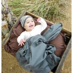 Organic Swaddling Blanket -Gray