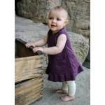 Organic Baby-Doll Dress -Eggplant