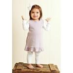 Organic Baby-Doll Dress -Lavender