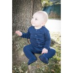 Organic Gl'oved-Sleeve™ Overall  - Navy