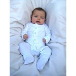 Organic Gl'oved-Sleeve™ Overall  -White