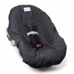 Charcoal Gray Infant Car Seat Cover