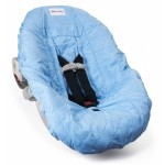 Light Blue Infant Car Seat Cover