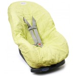 Lemon Lime Yellow Toddler Car Seat Cover