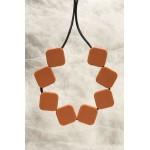 Brown Sugar Cube Necklace