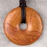 Bronze Donut Shaped Pendant