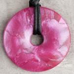 Raspberry Shimmer Pendant