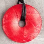 Red Shimmer Pendant