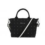 Madison Black Baby Bag