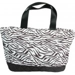 Personalized Zebra Small Quilted Tote/Diaper Bag