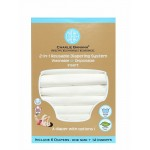 All White - One Size Diapers