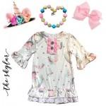 Unicorn Pajama Dress - The Skylar