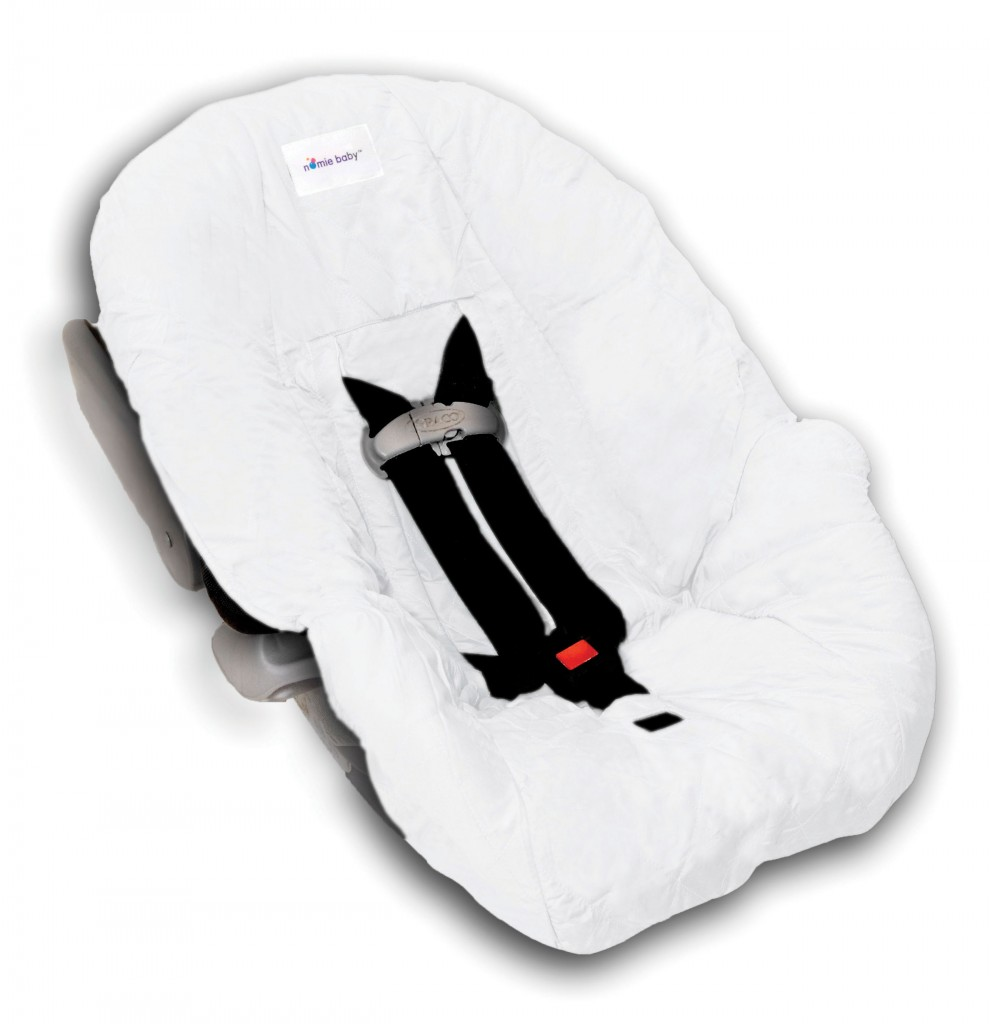 white infant car seat cover. Black Bedroom Furniture Sets. Home Design Ideas