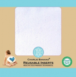 3 Reusable Inserts - Sized (Small) in box (For Size Diapers)