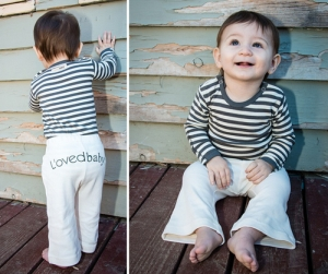 Organic L'ovedbaby™ Signature Pant -Beige
