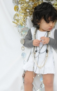 Organic Baby-Doll Dress -White