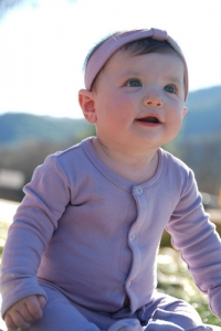 Organic Gl'oved-Sleeve™ Overall - Lavender