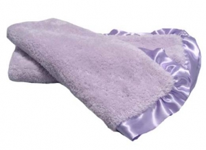 Lilac Plush Cloud Fleece Baby Blanket